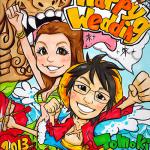 アニメ風タッチ-パロディー:ワンピース